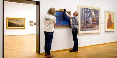 PAN Amsterdam toont recent ontdekte Mondriaan