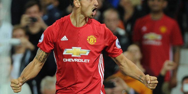 Ibrahimovic laat United winnen