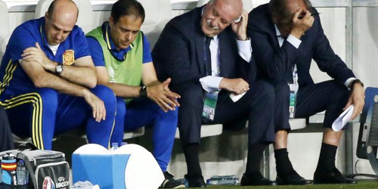 Del Bosque: we moeten leven met de situatie