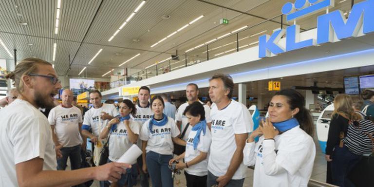 Deel KLM'ers werkt opnieuw volgens het boekje