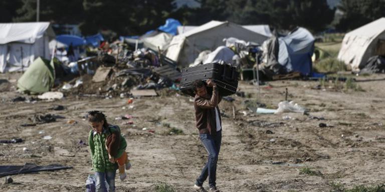 Vlakbij Idomeni ontstaat nieuw kamp