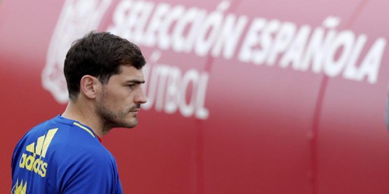 Casillas niet opgeroepen voor Spaans elftal