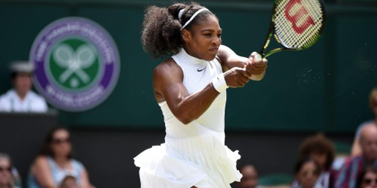 Serena Williams eenvoudig naar vierde ronde