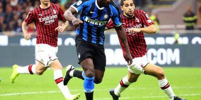 Inter koploper na zege in Milanese derby