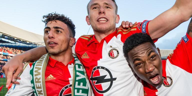Feyenoord zonder Van Beek naar Oostenrijk