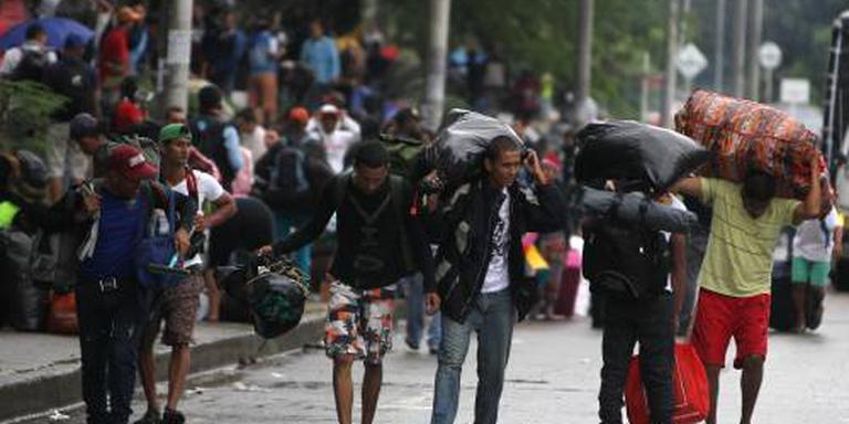 Colombia komt vluchtelingen Venezuela te hulp