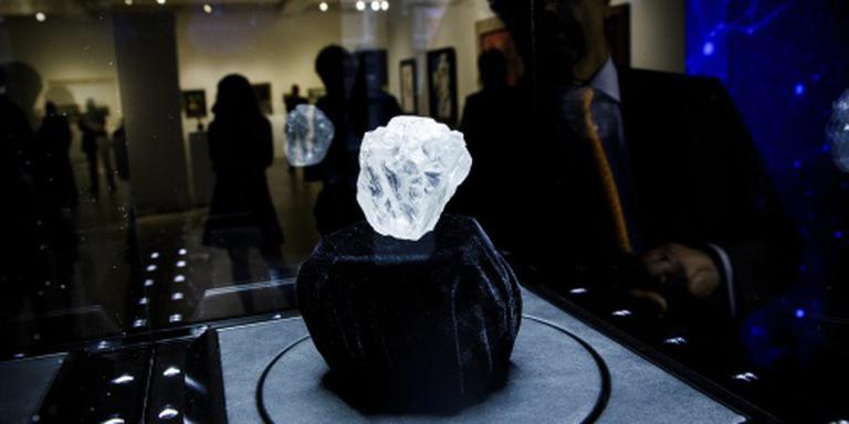 Ruwe diamant levert 55 miljoen op