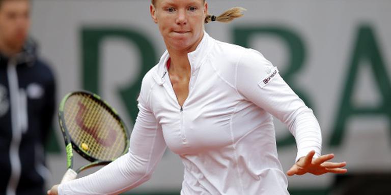 Bertens loopt finale Roland Garros mis