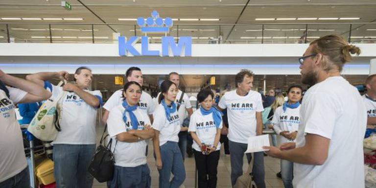 Grondpersoneel KLM schaalt acties op
