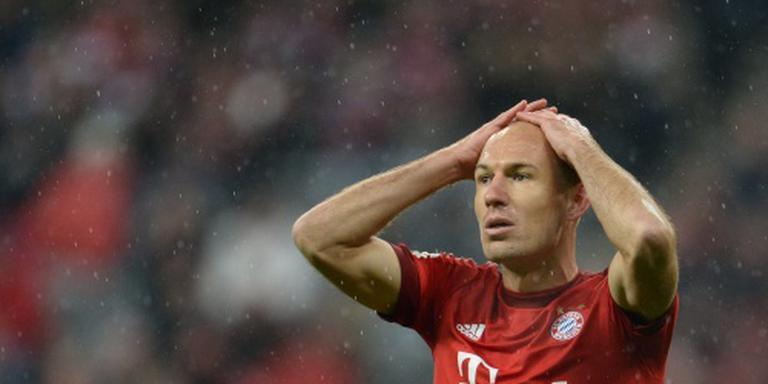 Robben keert nog niet terug bij Oranje