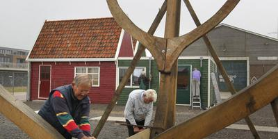 Werk aan replica Willem Barentsz hervat