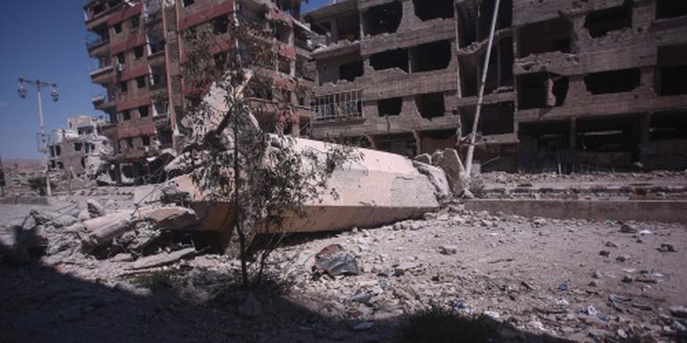 Doden bij luchtaanvallen Damascus