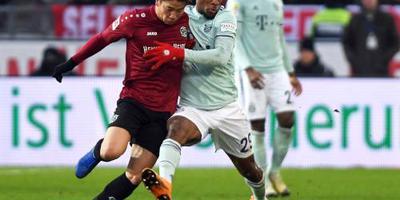 Bayern achterhaalt Mönchengladbach