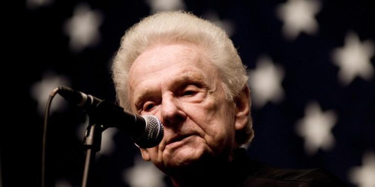 Bluegrassmuzikant Stanley (89) overleden