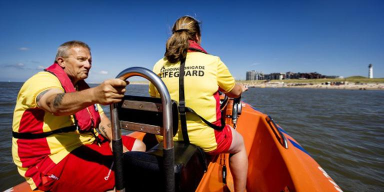 Reanimatie na afloop Lifeguard Day in Egmond