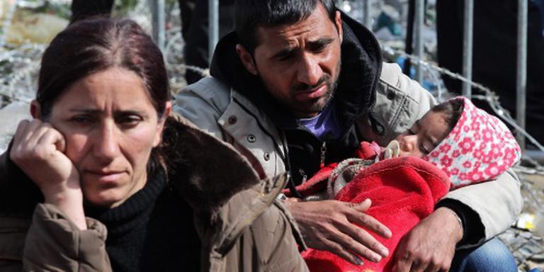 Situatie migranten bij Idomeni is erbarmelijk