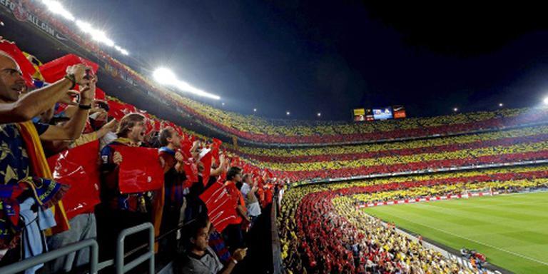 Spaanse bekerfinale in teken politieke rel
