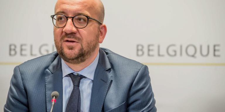 Belgische premier: blijf op bestemming