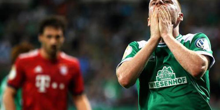 Bremen ziet Klaassen na botsing uitvallen