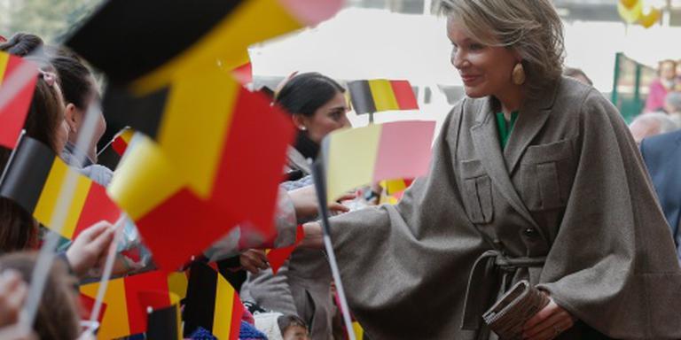 Mathilde bij jubileumconcert in Abdij