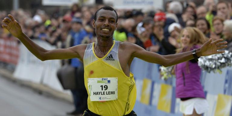 Hayle wint marathon van Boston