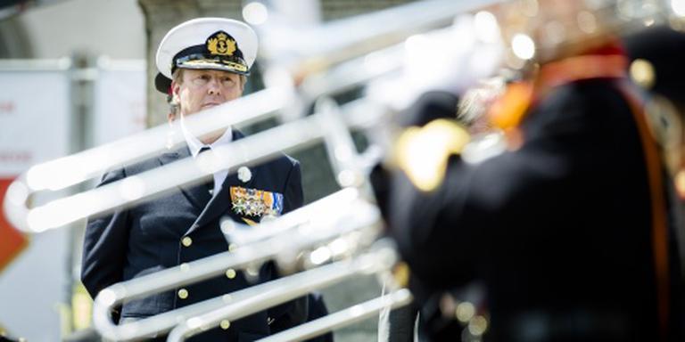 Koning Willem-Alexander bij Veteranendag