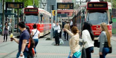 HTM haalt contant geld weg bij trambestuurder