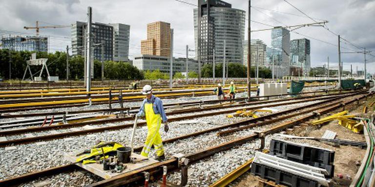 Amsterdamse metro rijdt weer gewoon
