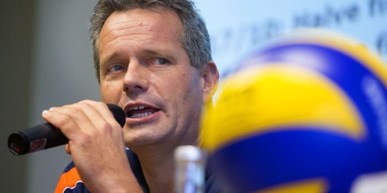 Volleyballers winnen weer van Duitsland