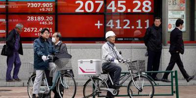 Nikkei sluit week licht hoger af