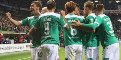 Werder Bremen klimt naar tweede plaats