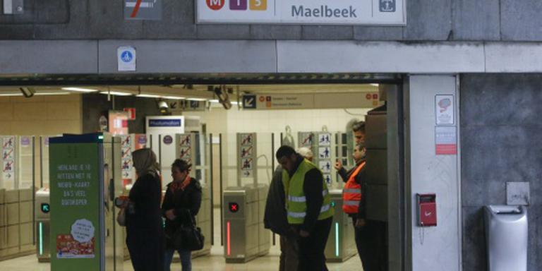 Alle ingangen metro Brussel weer in gebruik