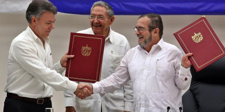 Wapenstilstand regering Colombia en FARC