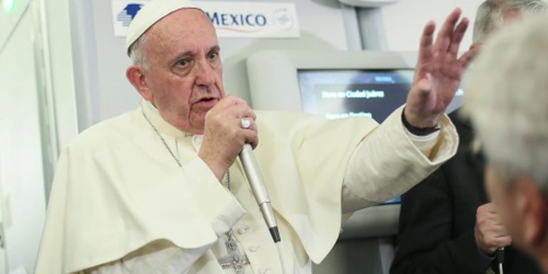Paus over Trump: een christen zegt dit niet