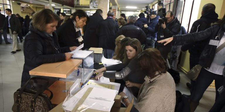 Iets hogere opkomst bij Spaanse verkiezingen