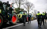 Twee mensen opgepakt bij boerenprotest in Den Haag