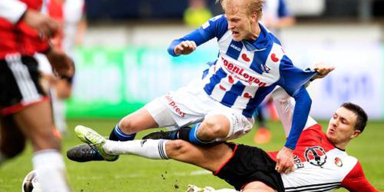 Morten Thorsby in actie. FOTO ANP