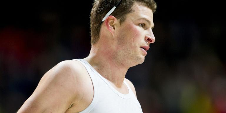 Sven Kramer won donderdag de 10 kilometer. FOTO AP