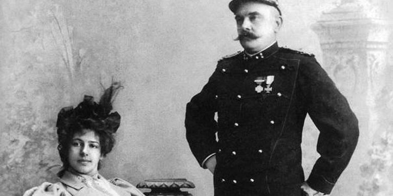 Margaretha Zelle en Rudolph Mac Leod.