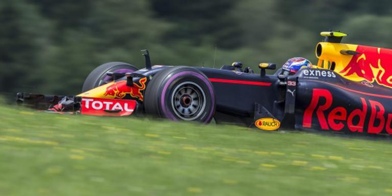 Verstappen staat voor inhaalrace in Oostenrijk