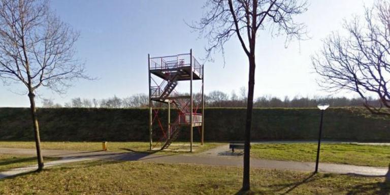 De uitkijktoren. Google Maps