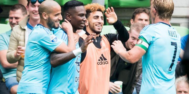 Flitsende start Feyenoord tegen FC Groningen
