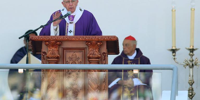 Paus in Mexico: Jezus wil geen huurmoorden