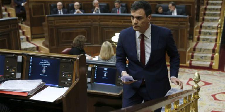 PSOE-leider verliest stemming premierschap