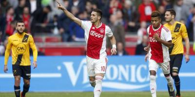 Ajax verslaat NAC Breda: 5-0