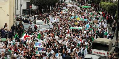 Partij van Bouteflika steunt Algerijns protest
