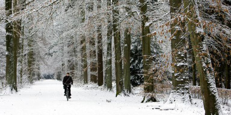 Sneeuw op eerste dag meteorologische lente