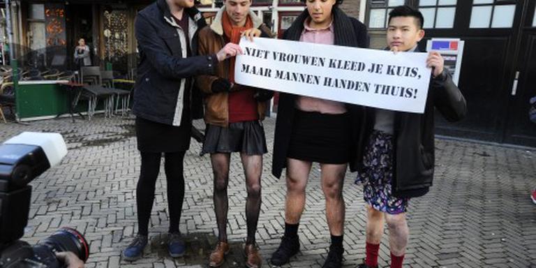 'Rokjesprotest' rustig verlopen