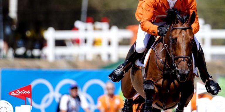 Geen medaille voor Dubbeldam in Rio