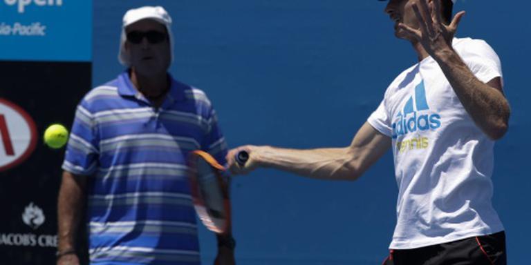 Murray herenigd met coach Lendl